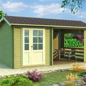 Záhradná chatka - záhradný domček 104