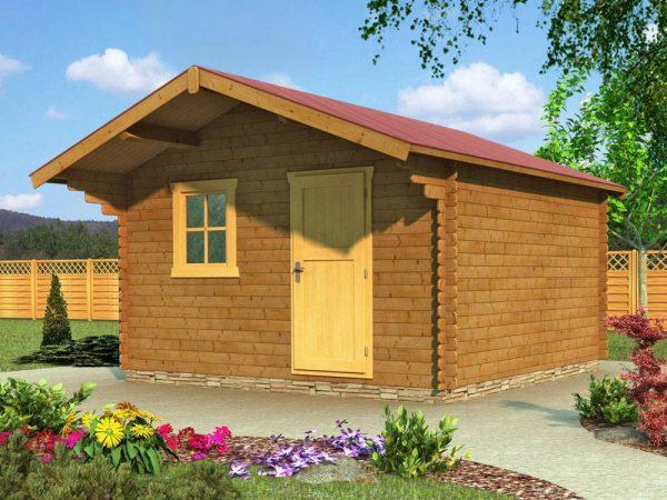 Záhradná chatka - záhradný domček 945