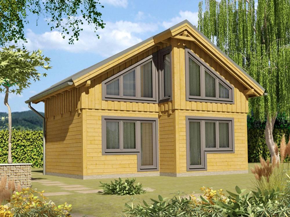 Zrubová chata Renáta – poschodová drevenica