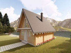 Zrubová chata Roháč