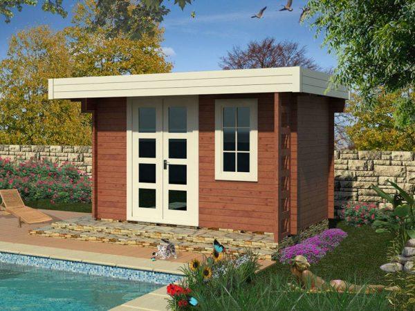 záhradný domček 970