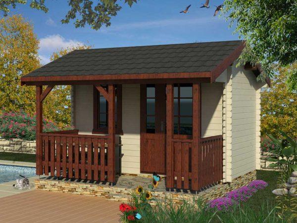 Záhradná chatka - záhradný domček 980