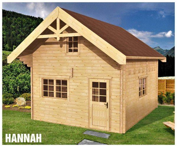 Zrubová chata Hannah - poschodová drevenica