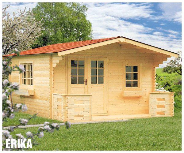 Záhradná chatka - záhradný domček Erika
