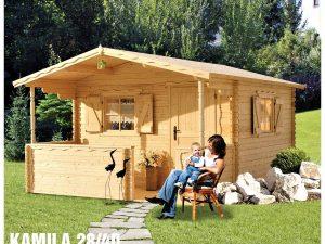 Záhradná chatka - záhradný domček Kamila