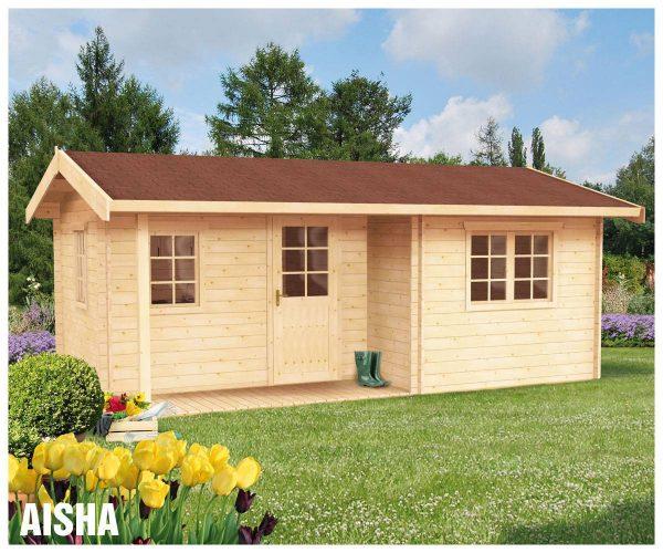 Zrubová chata Aisha - víkendová