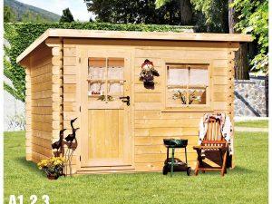 Záhradná chatka A1, A2, A3