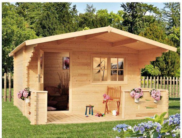 Záhradná chatka - záhradný domček BP 7B