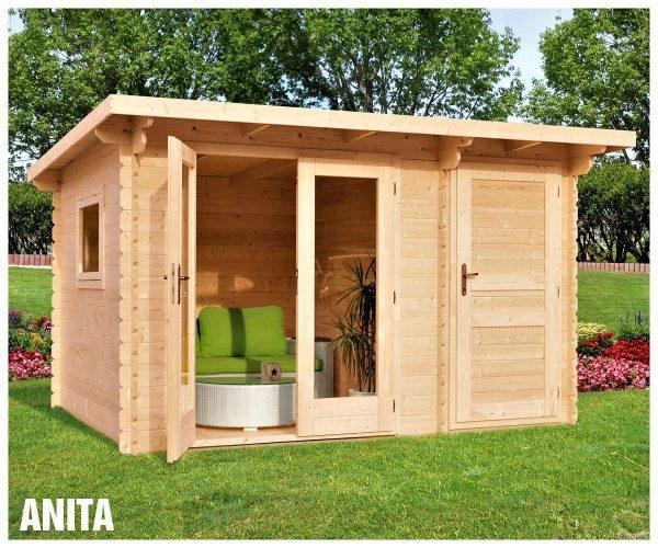 Záhradná chatka - záhradný domček Anita