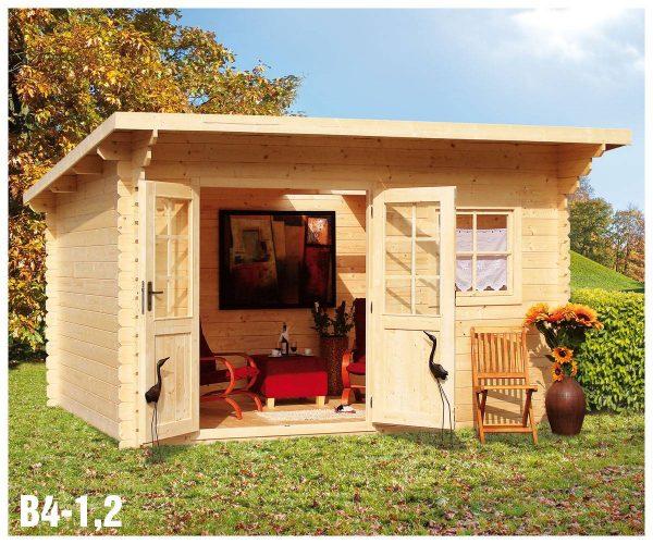 Záhradná chatka - záhradný domček B4