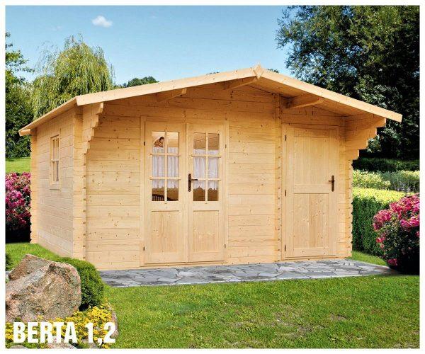Záhradná chatka - záhradný domček Berta