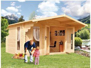 Záhradná chatka - záhradný domček BP 6