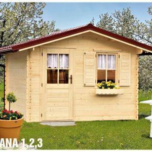 Záhradná chatka - záhradný domček Diana