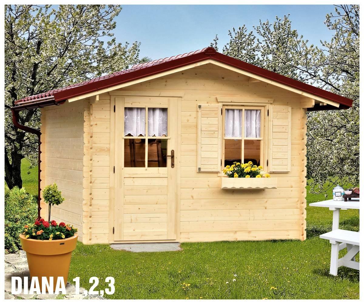 Záhradná chatka – záhradný domček Diana
