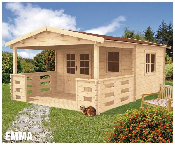 Záhradná chatka - záhradný domček Emma