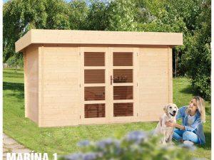 Záhradná chatka - záhradný domček Marína 1