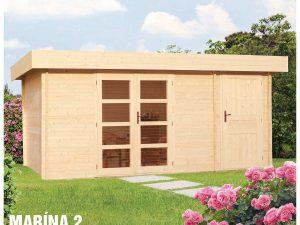 Záhradná chatka - záhradný domček Marína 2