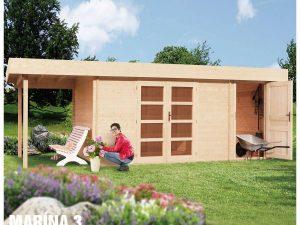 Záhradná chatka - záhradný domček Marína 3