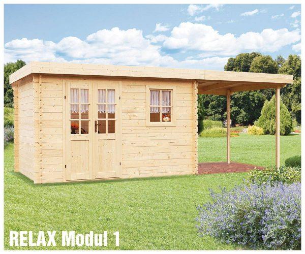 Záhradná chatka - záhradný domček Relax Modul 1