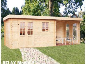 Záhradná chatka - záhradný domček Relax Modul 2