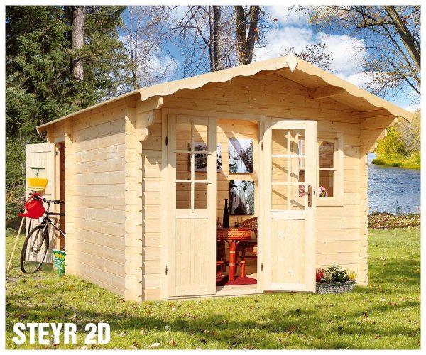 Záhradná chatka - záhradný domček Steyr 2D