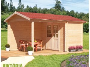 Záhradná chatka - záhradný domček Viktoria