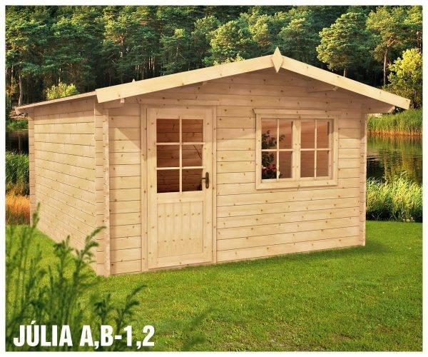 Záhradný domček Júlia